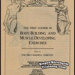 Milo Bar Bell Courses by Alan Calvert