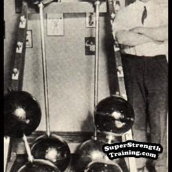 Alan Calvert – Milo Bar Bell Company