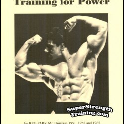 Training for Power by Reg Park – Mr. Universe