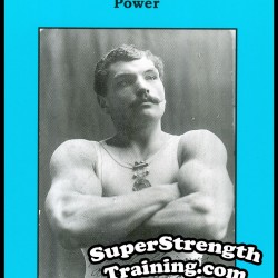 The Development of Physical Power by Arthur Saxon