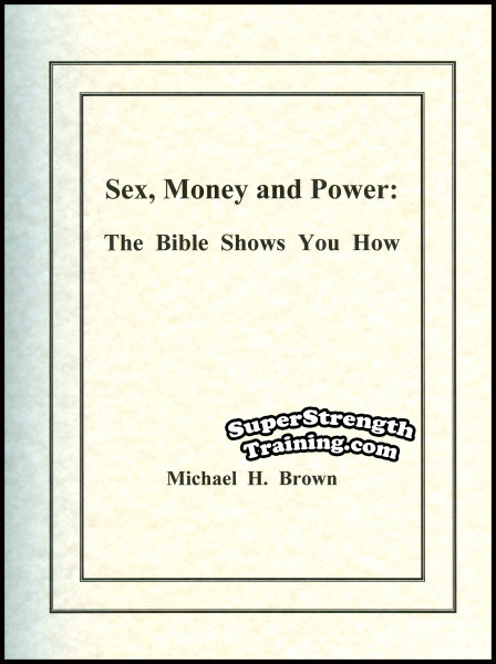 Sex money the bibles shows you