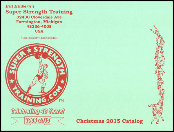 Christmas Mail Order Catalog.Free Weightlifting Catalog Super Strength Training